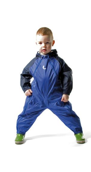 Bush Baby Kinderregenanzug blau